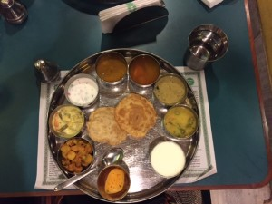 Thali at The Woodlands Restaurant