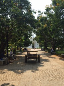 Bharathi Park in Puducherry